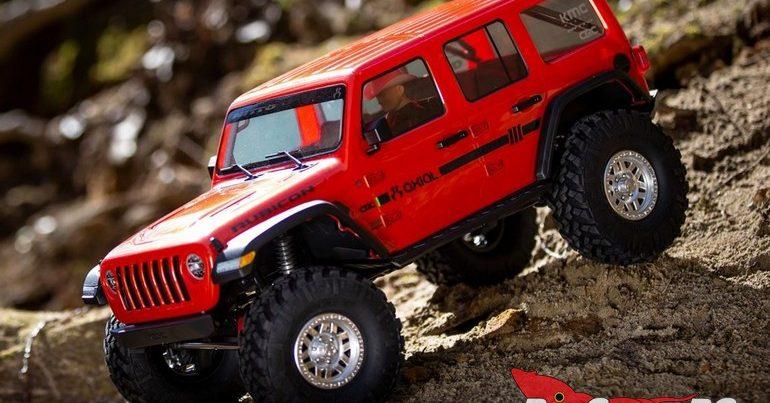 Axial SCX10 III Jeep JLU Wrangler Portal Axle RTR