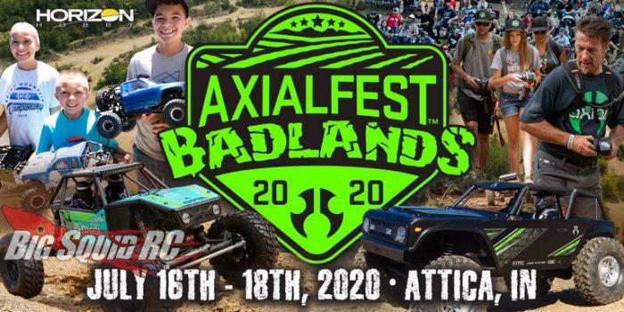 Horizon Hobby Axialfest Badlands 2020