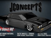 JConcepts Tactic Street Eliminator Wheels Chrome