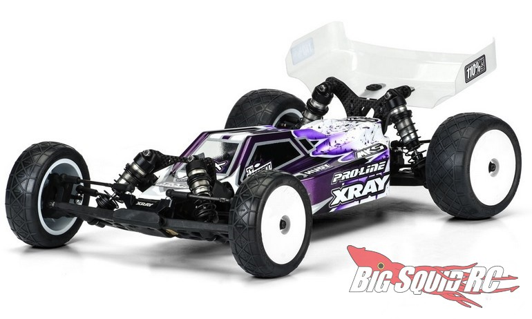 Pro-Line Axis Light Weight Clear Body XRay XB2