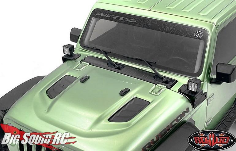 RC4WD Pillar Lights LED Light Kit Axial SCX10 III Jeep JLU Wrangler