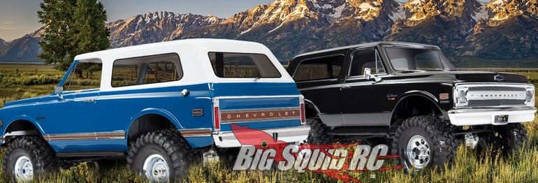 Traxxas 1969 1972 Chevrolet Blazer Bodies TRX-4