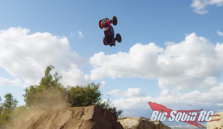Traxxas Maxx RC Downhill Action Video