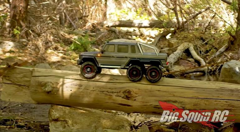 Traxxas Mercedes-AMG G 63 Six-Wheel Drive Summer Fun Video