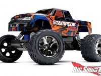 Orange Traxxas Stampede VXL