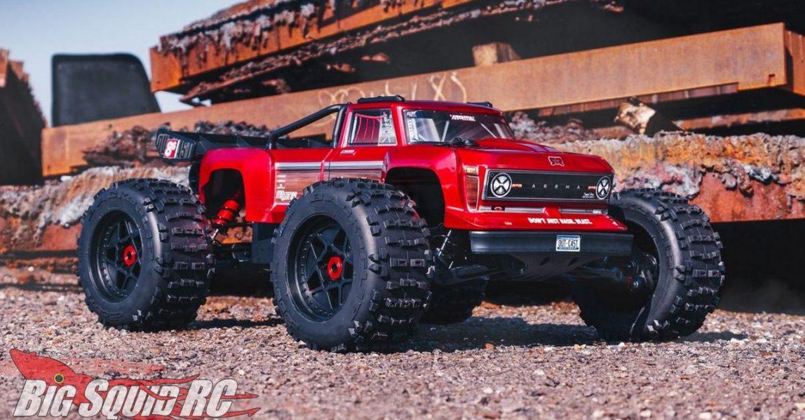 ARRMA 5th Scale Outcast 8S BLX RTR Stunt Truck