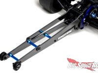 Exotek Carbon Fiber Wheelie Bar Set DR10