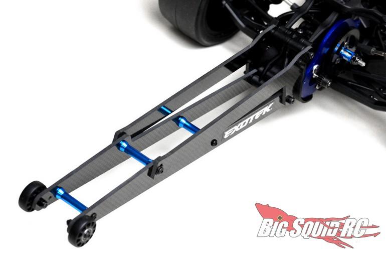 Exotek Carbon Fiber Wheelie Bar Set DR10