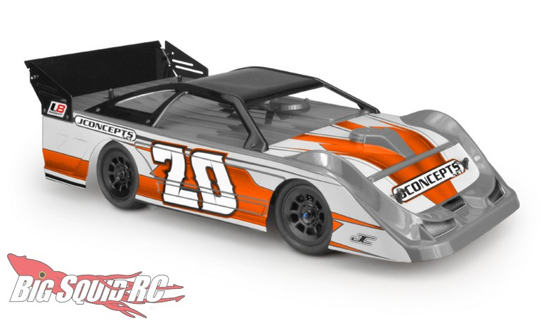 "JConcepts L8D ""Decked"" Lightweight Late Model Body"