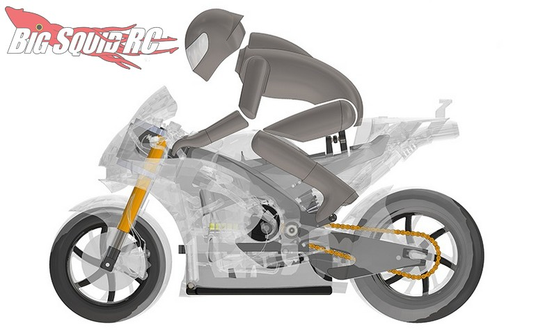 MST 5th Scale GPX RC Motorcycle