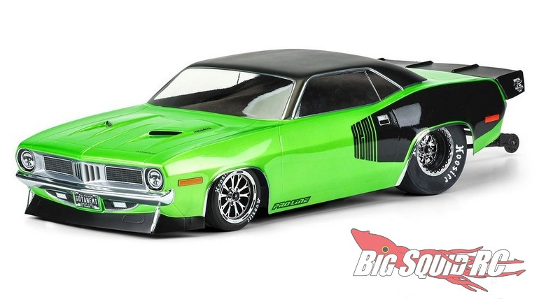 Pro-Line 1972 Plymouth Barracuda Clear Drag Body