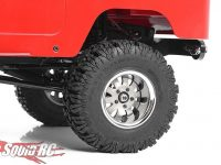 RC4WD 1.9 5 Lug Steel Wheels Silver