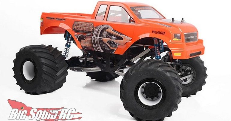 RC4WD Carbon Assault 10th Scale Monster Truck Manticore Body
