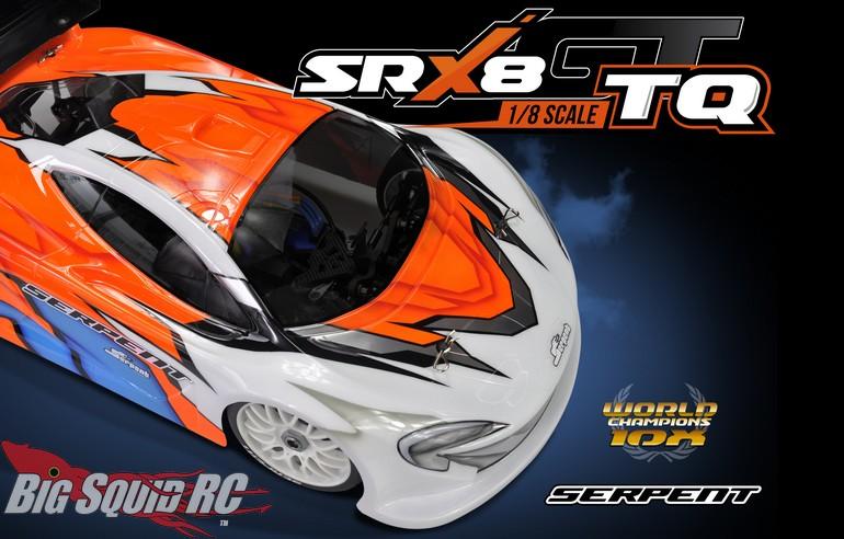 Serpent SRX8GT TQ Nitro 8th Scale Kit