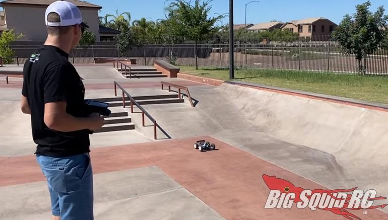 Rivkin Associated Skate Park Bash Video