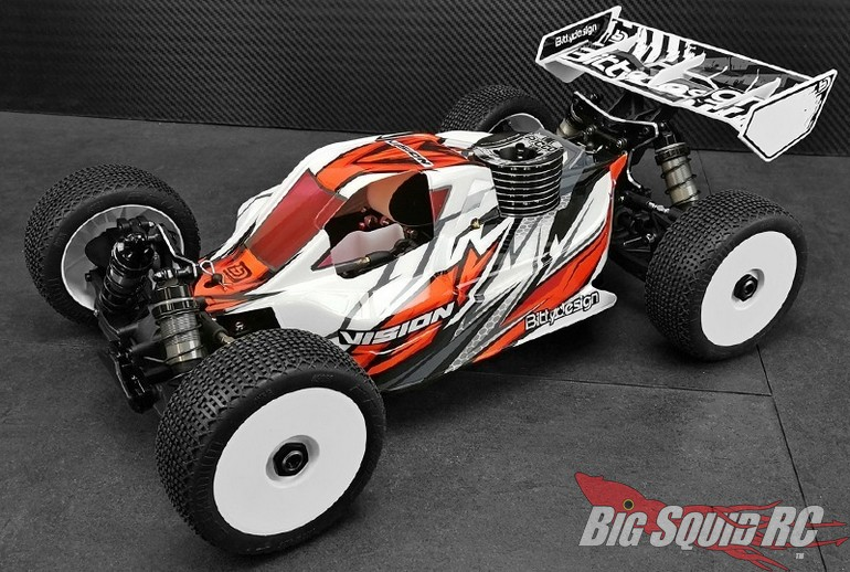Bittydesign Vision Clear Body Agama A319 Buggy
