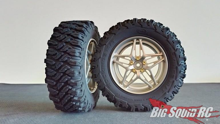 Kaioz RC Model Studio 2.8 Aluminum Rock Crawling Wheels