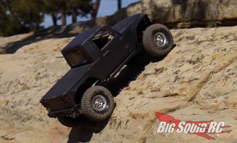 PitBull RC BloodAxe Tire Rock Crawling Video