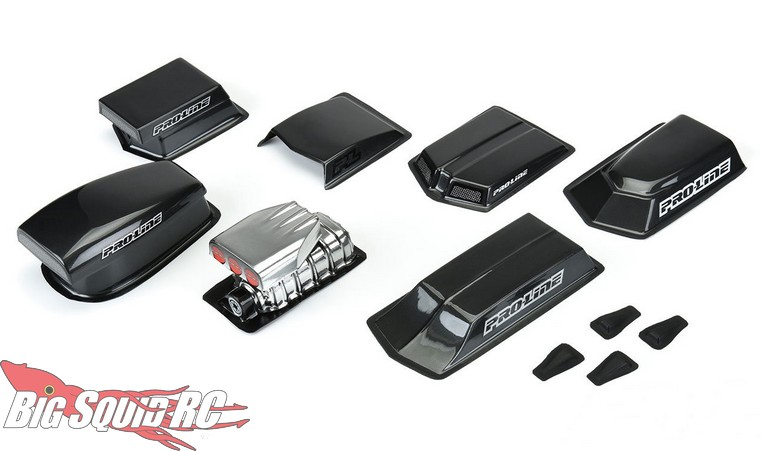 Pro-Line Scale Drag Racing Hood Scoops & Blowers