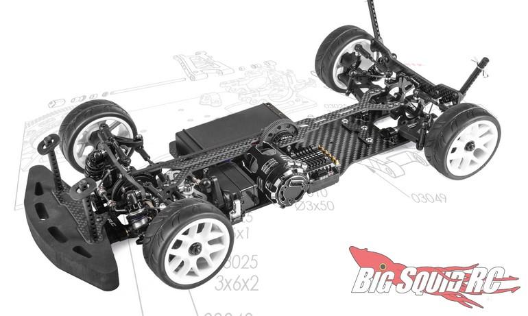 WRC Racing ST2.1 FWD Touring Car Kit