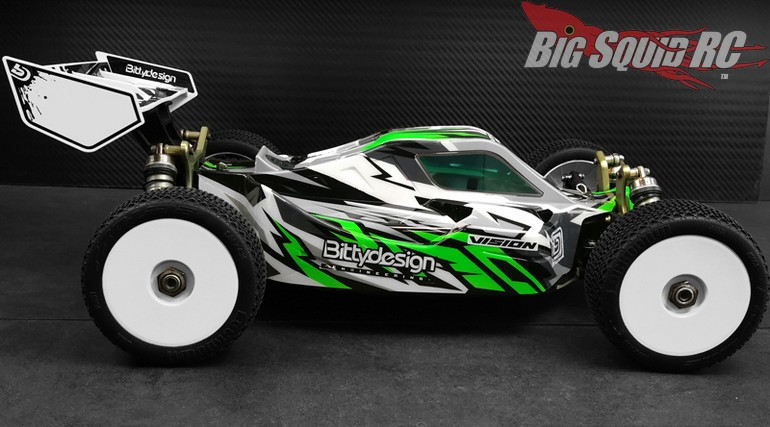 Bittydesign VISION Series Body Kyosho MP10E