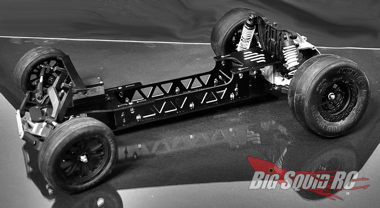 Deadloc Racing RC No Prep Street Eliminator Drag Conversion Kit Slash 2WD