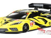 PROTOform RC Chevrolet Corvette C8 Clear Body GT12
