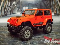 RC4WD 18th Gelande II Black Rock Orange Body