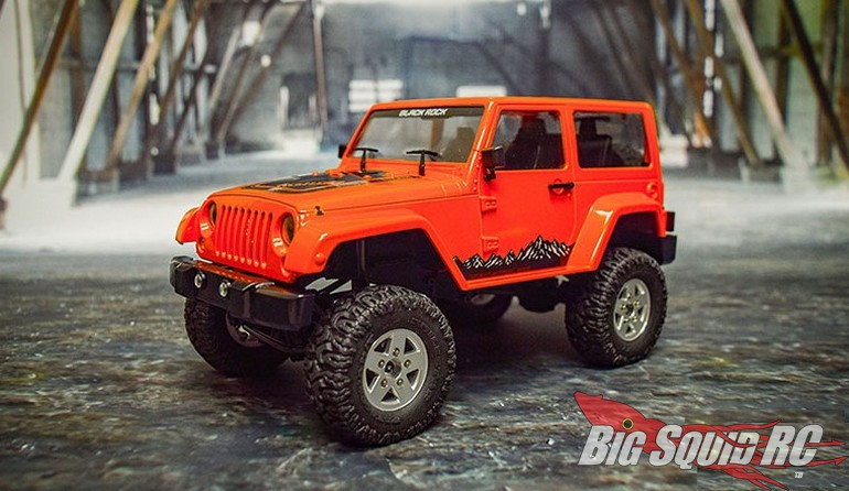 RC4WD 18th Gelande II Black Rock Orange Body