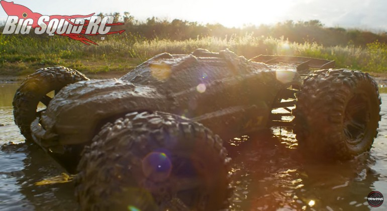 Traxxas E-Revo Mud Day Adventure