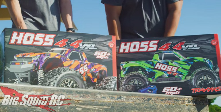 Traxxas Hoss Action Video