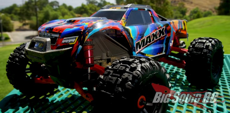 Traxxas Maxx Rock N Roll Video