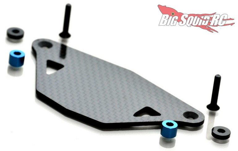 Exotek Racing RC Carbon Fiber ESC Mount Associated DR10