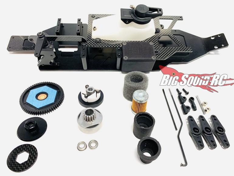 Ignite Design Nitro Conversion Kit Associated T6.2
