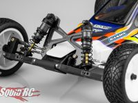 JConcepts Carbon Fiber Shock Tower Associated RC10B2