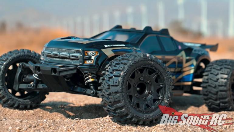 Pro-Line Ford F-150 Raptor Body Traxxas Rustler 4x4
