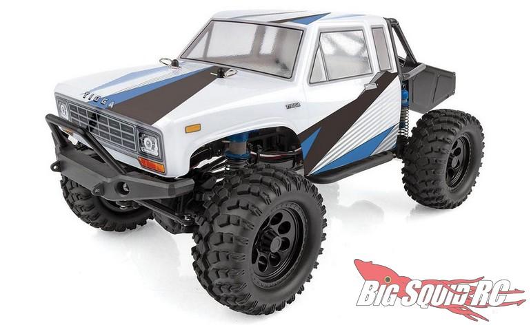 Team Associated CR12 Tioga Trail Truck RTR White Blue