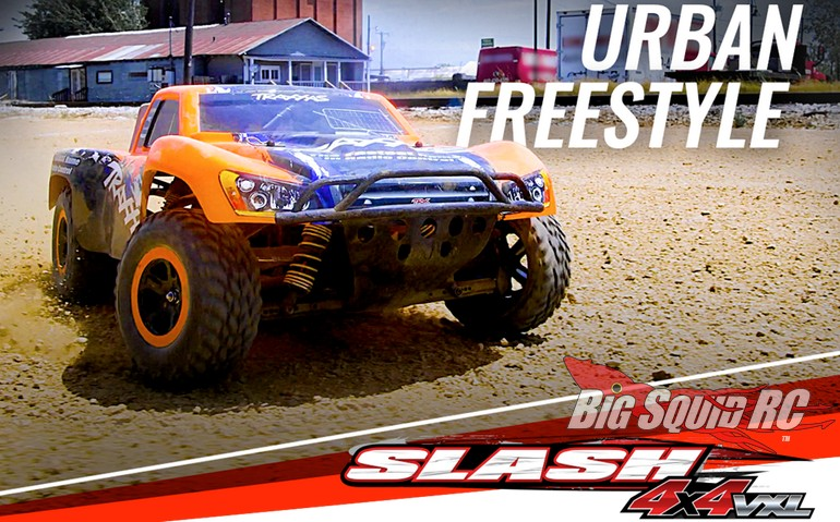 Urban Action Video Traxxas Slash 4X4 VXL