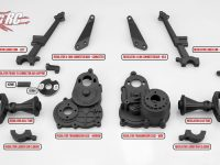 JConcepts Option Parts for the Regulator Chassis Conversion Kit