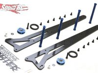 Exotek Adjustable Wheelie Bar Set 2WD Traxxas Slash