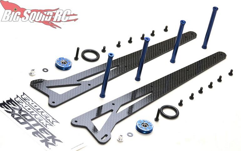 Exotek Adjustable Wheelie Bar Set 2WD Traxxas Slash
