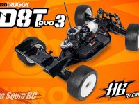 HB Racing D8T Evo3 Nitro Truggy Kit