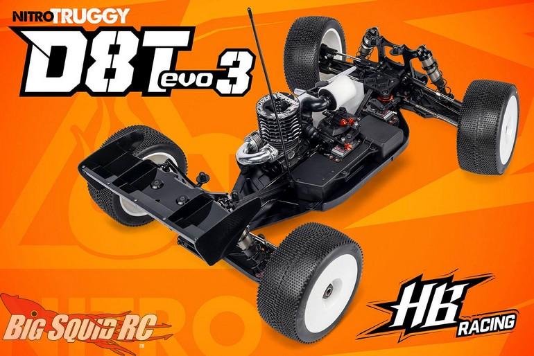 HB Racing D8T Evo3 Nitro Truggy Kit