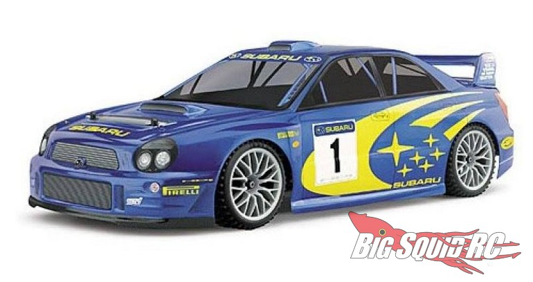 HPI 2002 Subaru Impreza Super RS4 Rally Body