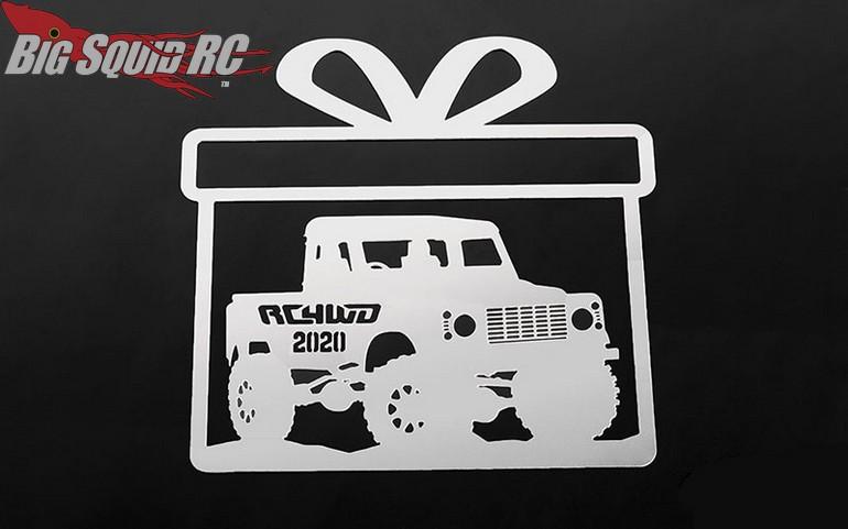 RC4WD Christmas Ornament 2020