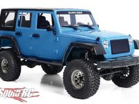 RC4WD Cross Country Off-Road Black Rock Four Door RTR