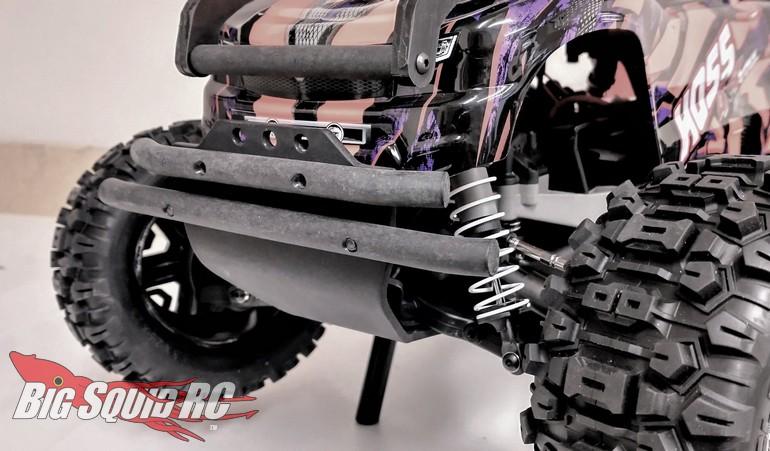 T-Bone Racing XV4 Front Bumper Traxxas Hoss