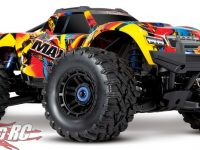 Traxxas Maxx Solar Flare Paint Scheme RC Monster Truck