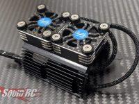 Amped RC Dual Fan Motor Heatsink