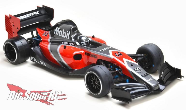 Exotek Racing F1ULTRA Lightweight Clear Body